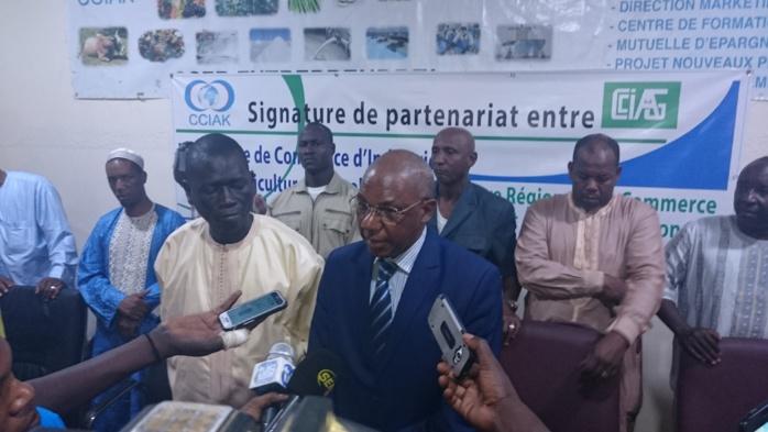 """Mamadou Baldé, président de la chambre d'industrie et d'artisanat de Conakry ( Guinée) : """" Nous sollicitons la mise en place d'une zone commerciale entre nos deux pays """""""