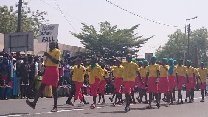 Défilé du 4 avril à Kaolack : 1.556 civils ont défilé sur l'avenue Diogaye Basile Senghor