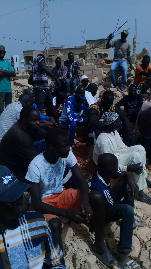 THIÈS : Les propriétaires des 200 maisons démolies par la SOPRIM, entament une grève de la faim