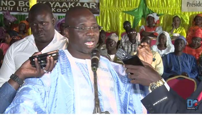 """Mouhamed Ndiaye, président national du mouvement ' Rahma' : """" J'ai fait don de ma personne et je demande aux autres leaders d'en faire de même pour la réélection du président Macky Sall..."""""""