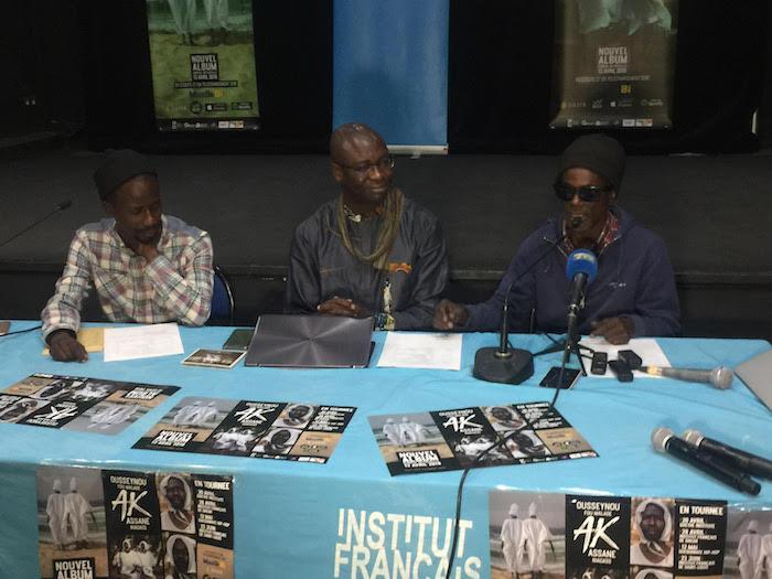 Lancement de l'album « Ousseynou ak Assane » : Fou Malade fait le procès de la justice sénégalaise