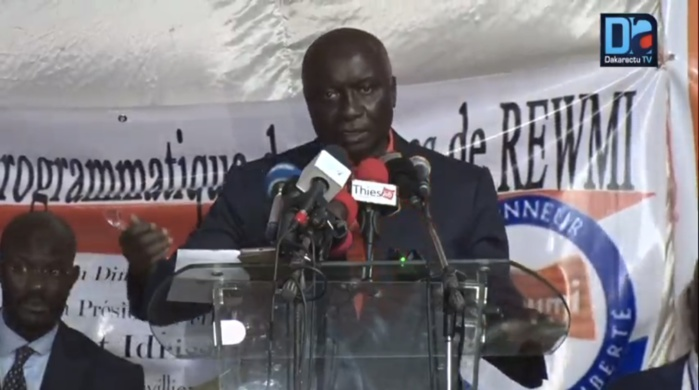 Idrissa Seck réunit ses militants et des leaders de l'opposition au séminaire programmatique de Rewmi