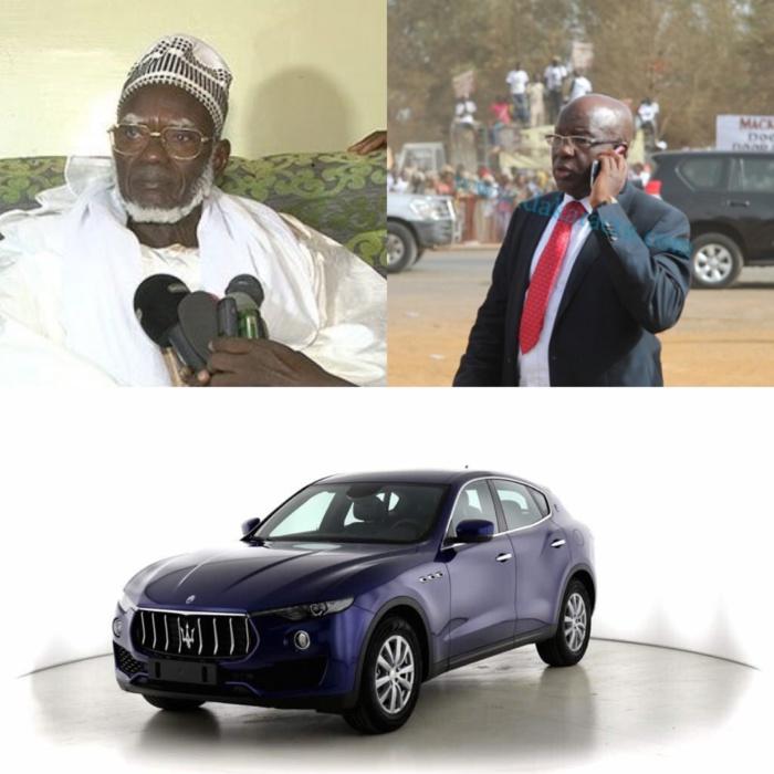 COLOBANE / RÉHABILITATION DE LA RÉSIDENCE SERIGNE TOUBA-  Le Ndigël du Khalife transmis à Mbaye Guèye par Cheikh Bass Abdou Khadre