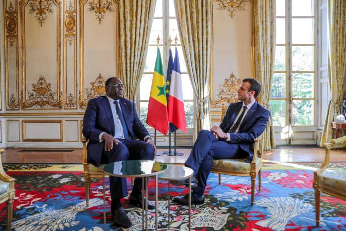 Visite du chef de l'Etat en France : le contenu des échanges entre Macky et Macron