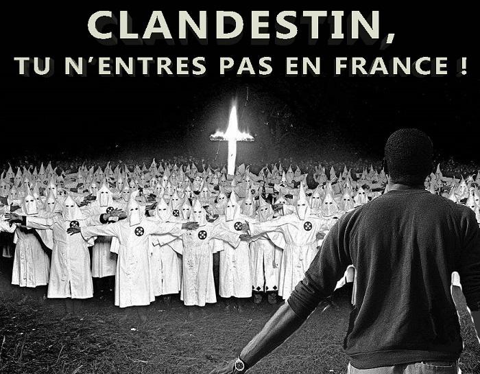 ALERTE: Un nouveau Ku Klux Klan traque les migrants africains dans les Hautes-Alpes françaises.