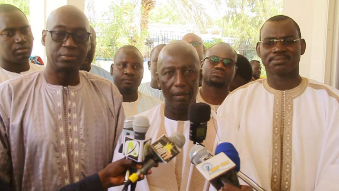 CHEIKH MBACKÉ SAKHO À TOUBA - ' J'étais venu dire au Khalife comment avec le parrainage, le Sénégal va économiser des milliards de francs '