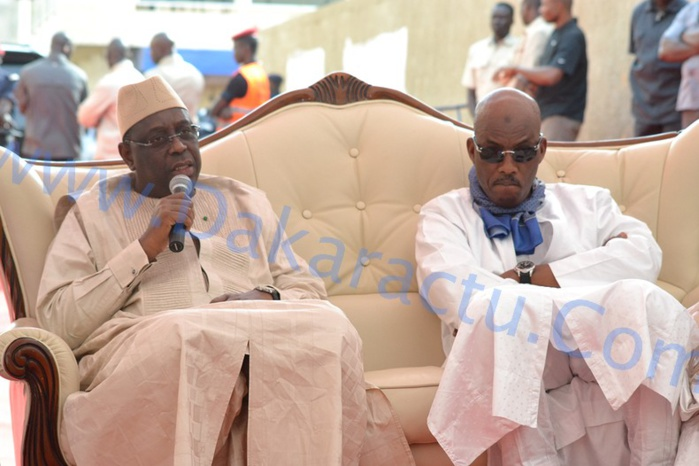 Les images de la présentation de condoléances du président Macky Sall chez Thierno Ba à Pikine