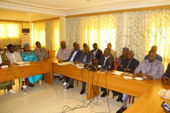 Recours au niveau de la CEDEAO et de l'Ua : l'opposition réunie, exauce le vœu de Idrissa Seck