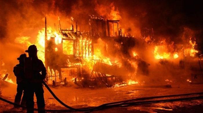 Missirah Wadène : Un violent incendie ravage le marché hebdomadaire( Louma)