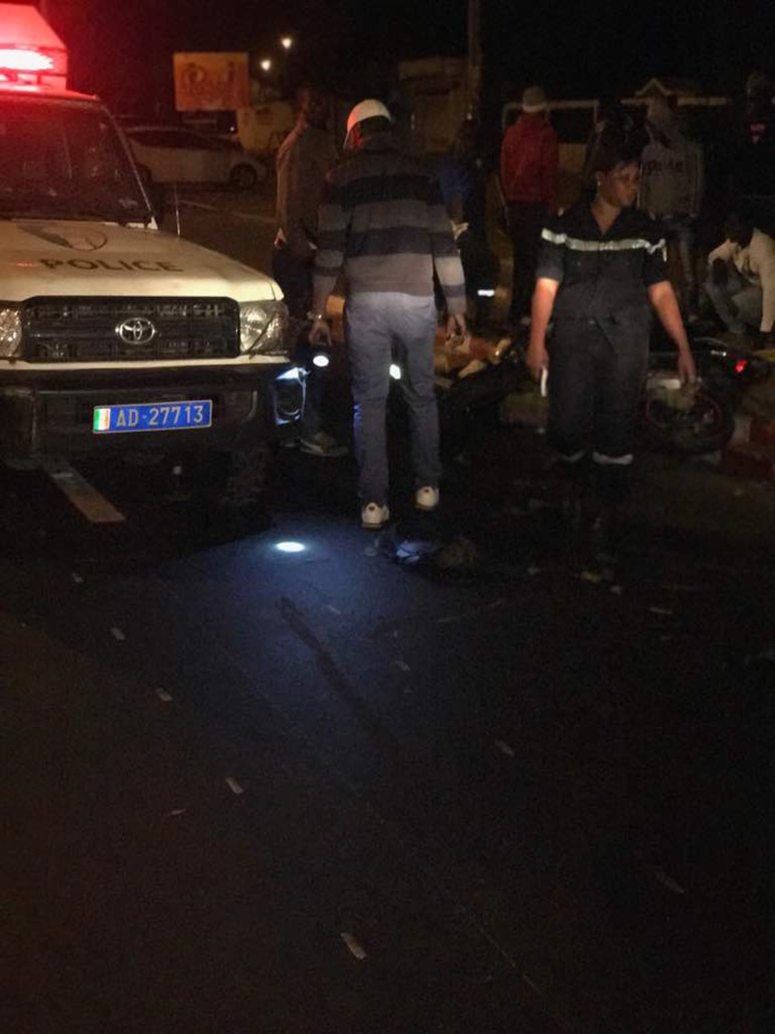 Choc entre un véhicule de la Police et un scooter : Le conducteur de l'automobile n'avait pas de permis de conduire (Communiqué Police)