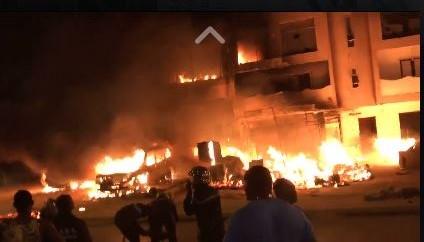 Incendie au marché Guedj de Kaolack : Plus de 7 cantines réduites en cendres... Des dégâts matériels estimés à des centaines de millions