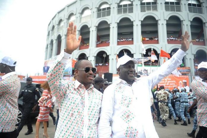 Revoilà Adama Bictogo, qui met en garde Guillaume Soro : « Il n'y a qu'en Alassane Ouattara seul que nous croyons »