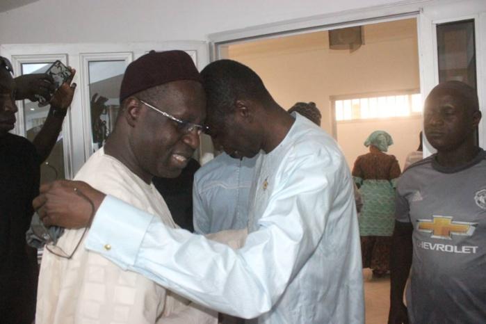 Fouta : Le questeur Daouda Dia et Abdou Karim Sall fument désormais le calumet de la paix ensemble
