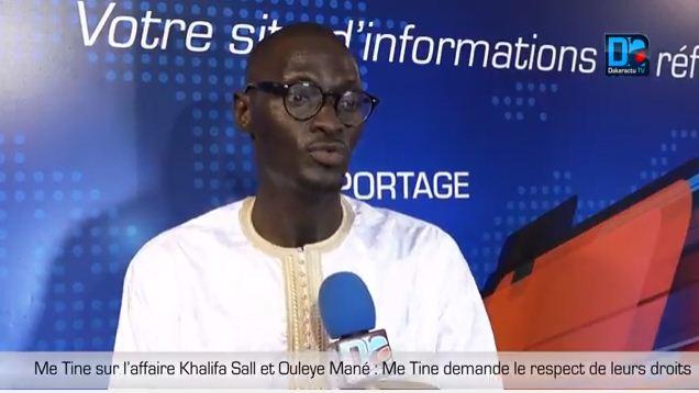 Recours loi sur le parrainage : le « texte neutralisé » selon Me Abdoulaye TINE.