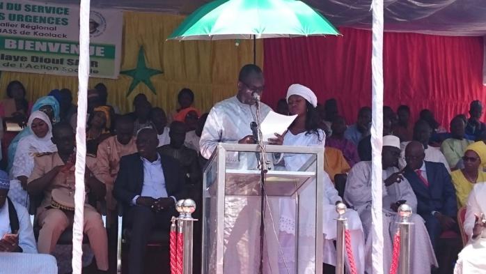 Kaolack : Abdoulaye Diouf Sarr inaugure le service d'accueil des urgences de l'hôpital régional El Hadj Ibrahima Niass