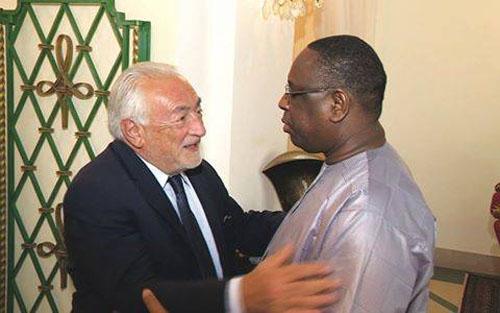 Reconverti conseiller de plusieurs chefs d'Etat africains, DSK peine à convaincre Macky Sall