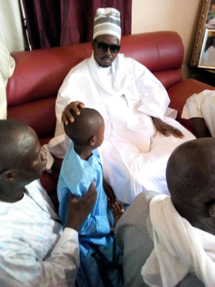 Kaffrine : Serigne Bass Abdou Khadre chez Abdoulaye Vilane pour présenter ses condoléances