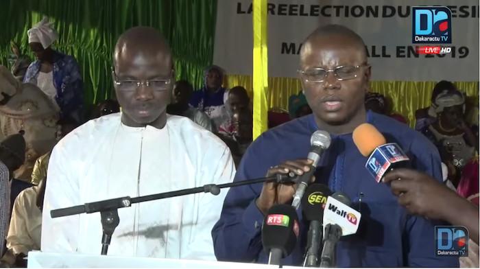 """MATAR BA : """"Mohamed Ndiaye « Rahma », le président sait ce que tu fais et nous te suivons partout (...) Je suis du côté de ceux qui travaillent pour la réélection du président Macky Sall"""""""