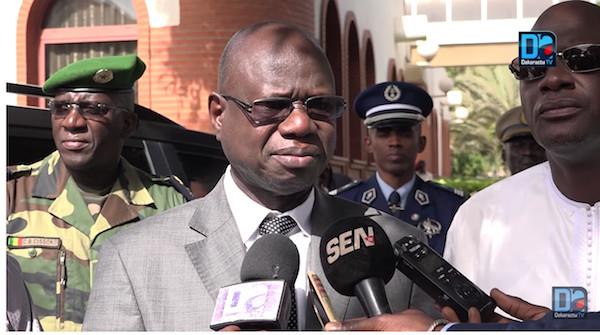 UGB : le ministre des Forces armées regrette les incidents et appelle au calme