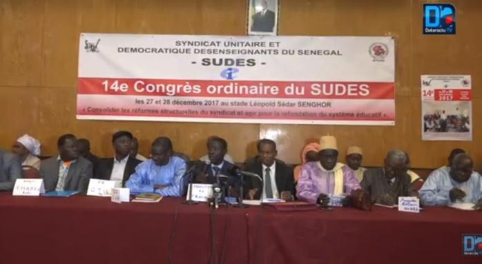 Décès de l'étudiant Fallou Sène : Le SUDES/ESR accuse l'État du Sénégal et exige la tenue d'une commission d'enquête indépendante