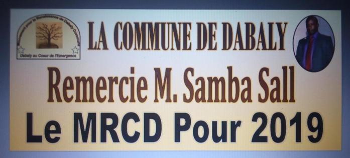DABALY - Samba Sall fait électrifier sa commune et compte aborder sereinement le dernier virage vers 2019