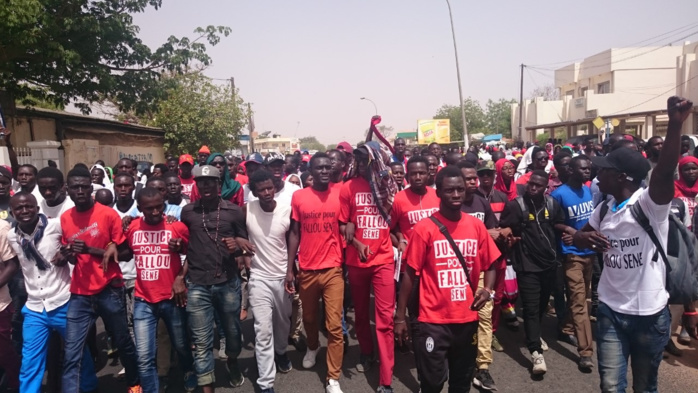Décès de Fallou Sène : Les étudiants de Kaolack exigent la condamnation du gendarme qui a tiré sur leur camarade