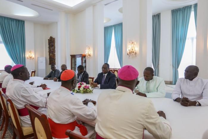 Lendemains de pèlerinage à Popenguine : Les évêques du Sénégal reçus par le chef de l'État (Images)