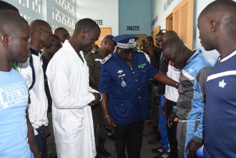 SAINT-LOUIS : Le Général Meïssa Niang au chevet des gendarmes blessés lors des affrontements à l'UBG