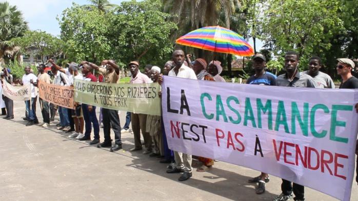 Niafrang en Casamance : Mobilisation contre le projet d'exploitation du zircon les 2 et 3 juin 2018