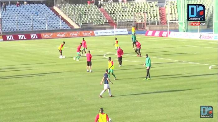Khadim Ndiaye titulaire contre le Luxembourg