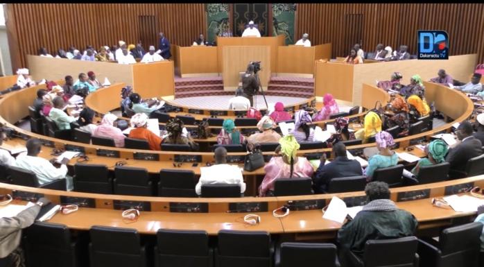 Assemblée nationale : Les députés examinent le projet de loi portant ratification de l'accord sur l'exploitation de ressources d'hydrocarbures signé entre le Sénégal et la Mauritanie