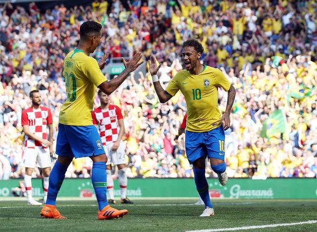Coupe du monde : le Brésil est prêt, Neymar aussi !