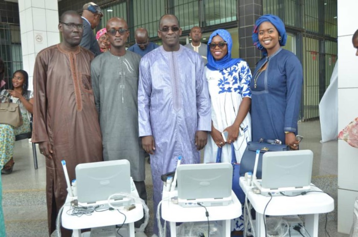 Santé maternelle et néonatale : Abdoulaye Diouf Sarr a réceptionné 33 appareils d'échographie
