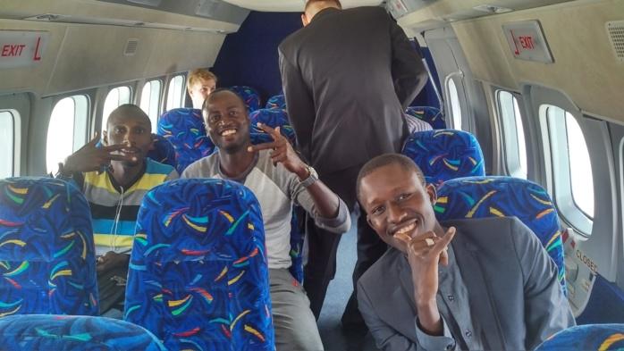 Zagreb - Osijek : Un avion spécial  pour des journalistes sénégalais