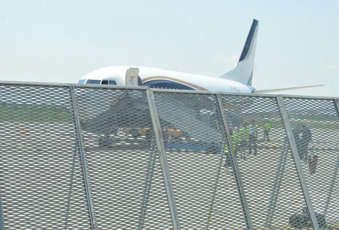 L'avion spécial des Lions est un Boeing de la compagnie Klasjet basée en Lituanie