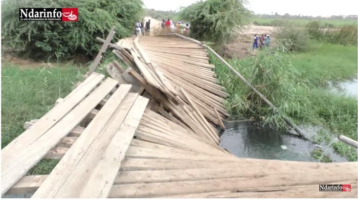 Saint-Louis : Le Pont de Savoigne s'effondre