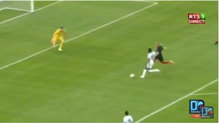 Match amical : Ouverture du score par Ismaela Sarr pour le Sénégal