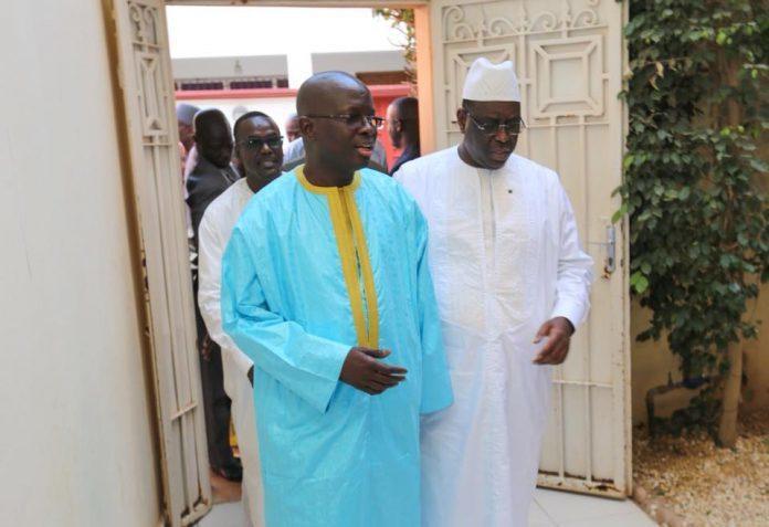 PALAIS DE LA RÉPUBLIQUE : Macky Sall rencontre Diagne Fada aujourd'hui