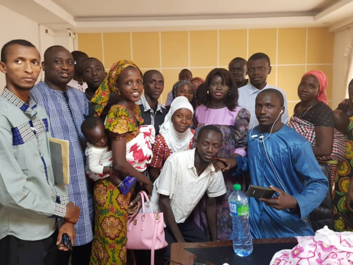 Mouvement d'humeur : Thérèse Faye Diouf reçoit les Animateurs polyvalents bénévoles et éclaire leur lanterne