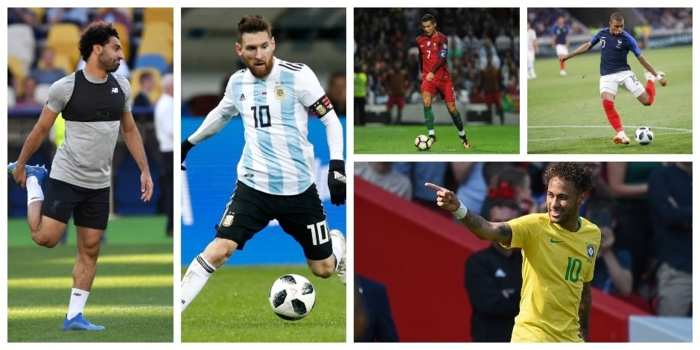 Mondial 2018 : cinq stars que tout le monde attend