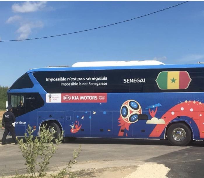«Impossible n'est pas Sénégalais» : Le bus des Lions pour le mondial en Russie