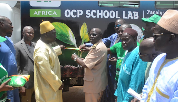 Campagne de fertilisation des sols dans la vallée :  L'O.C.P va former 5.000 producteurs de la région