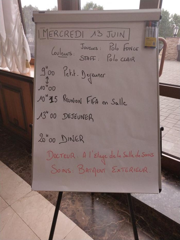 KALUGA (RUSSIE) : Le programme du jour des Lions du Sénégal