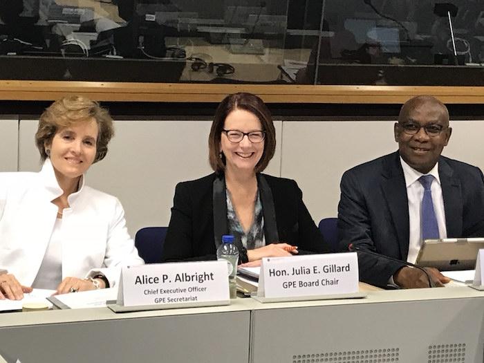 Partenariat Mondial pour l'éducation :  Serigne Mbaye Thiam officiellement installé dans ses fonctions de Vice Président du conseil d'administration.
