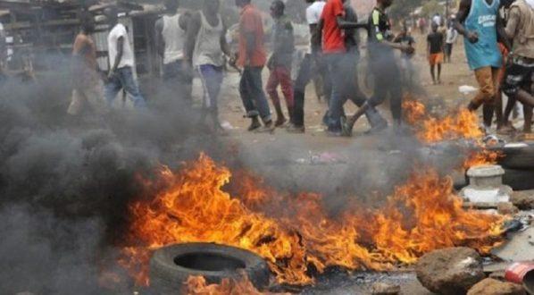 Urgent/Tensions vives à Hann Bel Air : Pneus brûlés, circulation bloquée