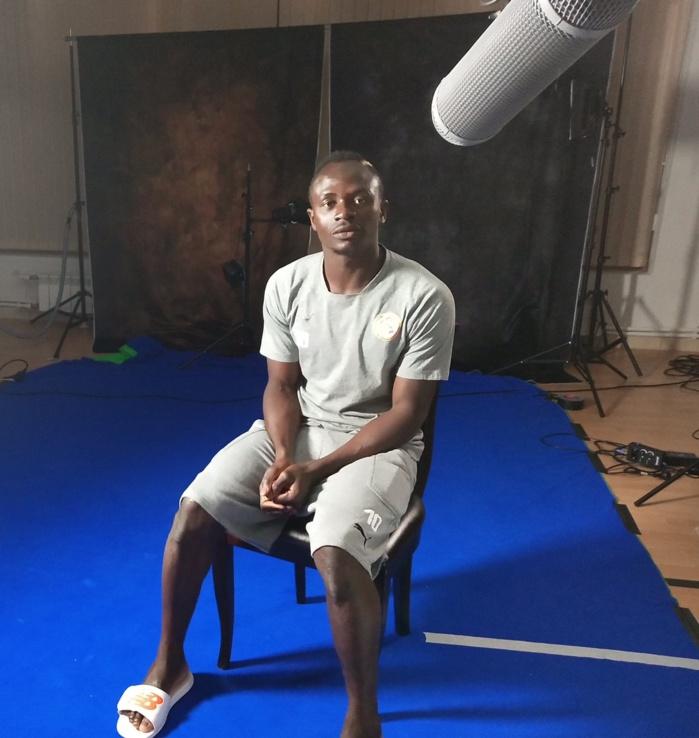 """Sadio Mané : """"C'est une chance d'avoir Aliou Cissé, Daf, Tony et Lamine Diatta à nos côtés!"""""""