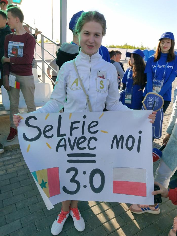 Evita, 15 ans, prédit une victoire des Lions, en échange de selfies !