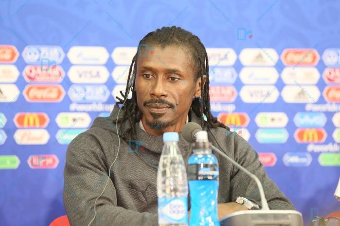 """Aliou Cissé sur le premier match du Sénégal : """"Ce que je pense de l'équipe Polonaise (...) Le Sénégal fait partie des meilleures équipes d'Afrique"""""""