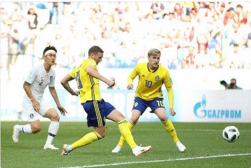 RUSSIE 2018 : La Suède bat la Corée du Sud (1-0)
