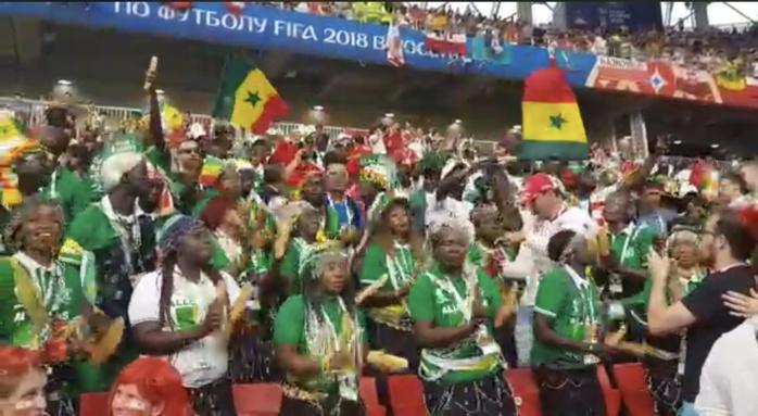 Sénégal-Pologne : Le 12e Gaïndé bien présent et en nombre au stade du Spartak